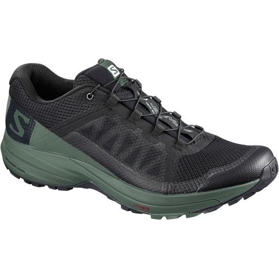 XA ELEVATE - Zapatillas de trail running - black/balsam green/black nnxZX
