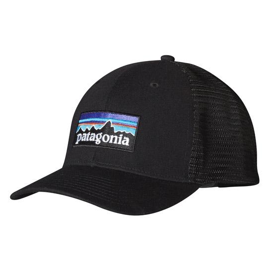Patagonia P-6 Logo Trucker Hat - Black