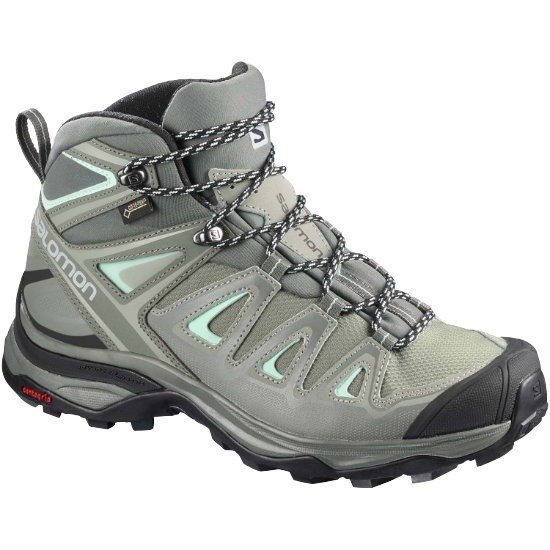 Salomon X Ultra 3 Mid Gtx W - Shadow/Castor Gray