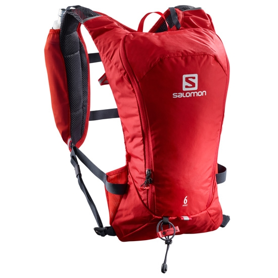 Salomon Agile 6 Set - Barbados Cherry/Graphite