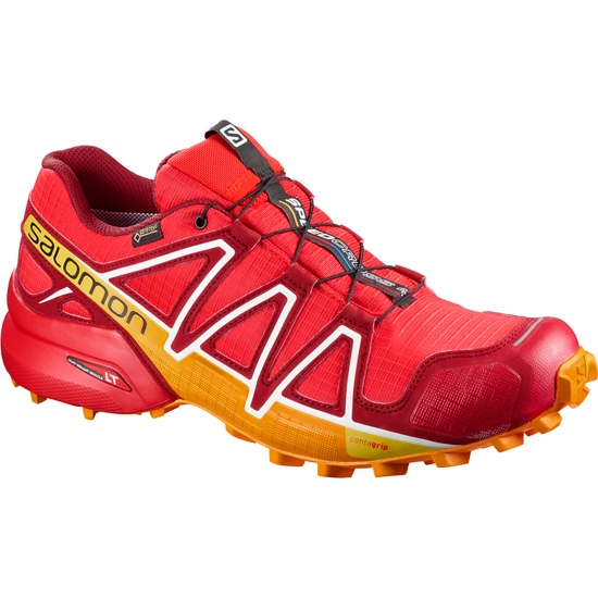 Salomon Speedcross 4 GTX - Fiery Red/Red Dalhia
