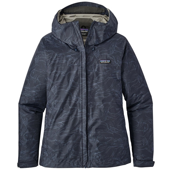 Patagonia Torrentshell Jacket - Lamp Lights: Navy Blue