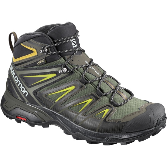 Salomon X Ultra 3 Mid GTX - Castor Gray/Black