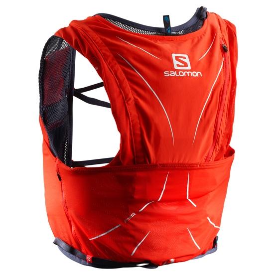 Salomon Adv Skin 12 Set - Fiery Red/Graphite