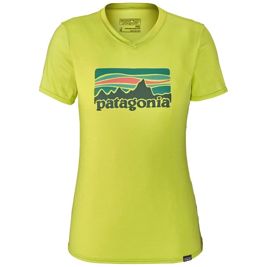 Patagonia Capilene Daily Graphic T-Shirt W - Fitz Roy Sunfade: Celery Green