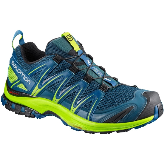 Salomon Xa Pro 3D - Poseidon/Lime Green/Black