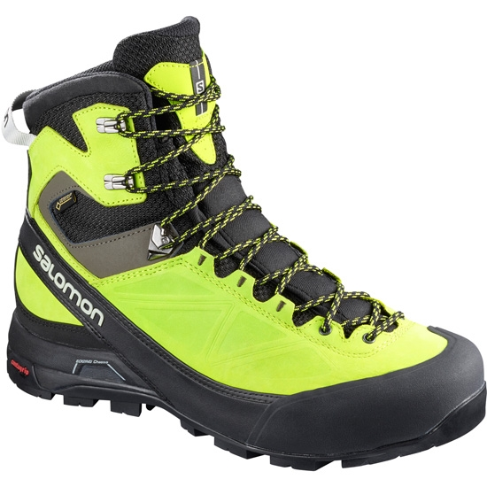 Salomon X Alp Mtn GTX - Black/Lime Green/Beluga