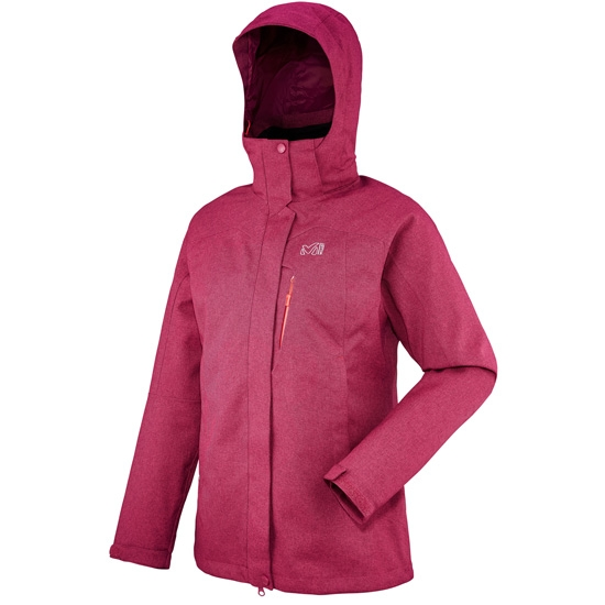 Millet Pobeda 3 in 1 Jacket W - H Velvet/Velvet Red