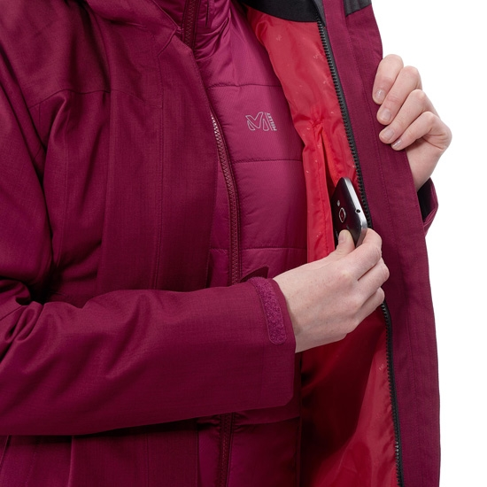 Millet Pobeda 3 in 1 Jacket W - Photo of detail