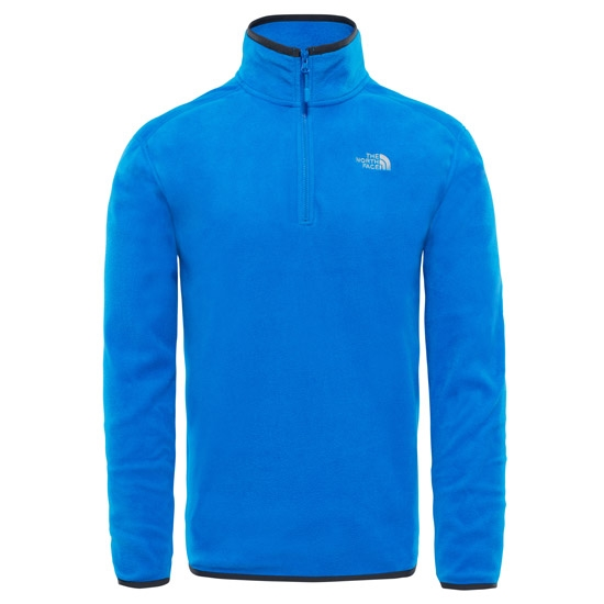 The North Face 100 Glacier 1/4 Zip - Bomber Blue