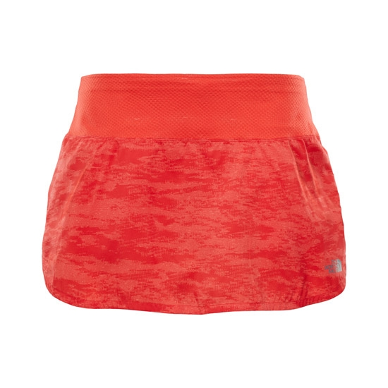 The North Face Flight Better Than Naked™ Skirt W - Fiery Coral Digicamo