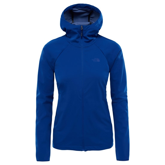 The North Face Inlux Softshell Hoodie W - Sodalite Blue