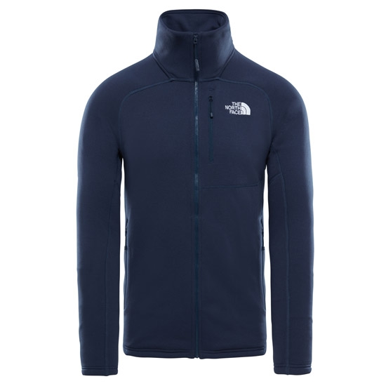 The North Face Flux 2 Powerstretch Full Zip - Urban Navy