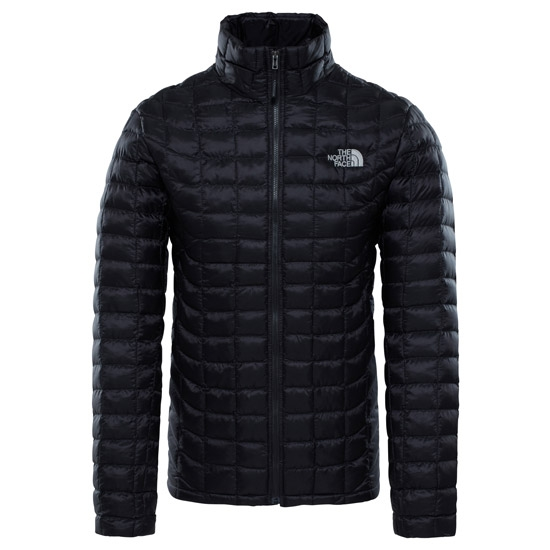 The North Face Thermoball Full Zip Jacket - TNF Black