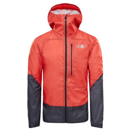 The North Face Summit L5 UL Storm Jacket - Fiery Red/TNF Black