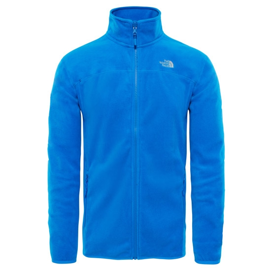 The North Face 100 Glacier Full Zip - Bomber Blue