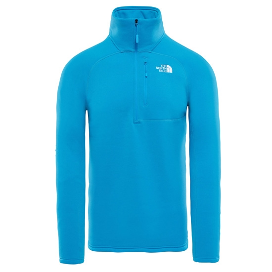 The North Face Flux 2 Powerstretch ¼ Zip - Hyper Blue