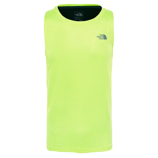 The North Face Ambition Tank - Dayglo Yellow/TNF Black