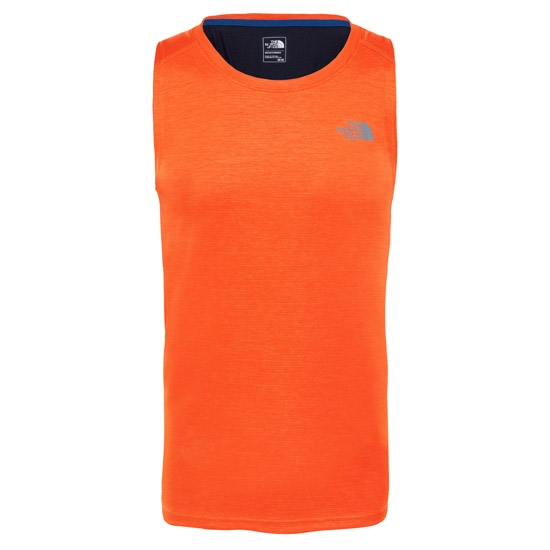The North Face Ambition Tank - Persian Orange/Urban Navy