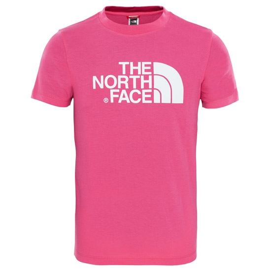 The North Face Easy Tee Youth - Petticoat Pink