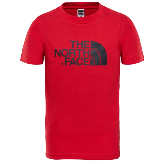 The North Face Easy Tee Youth - TNF Red/TNF Black