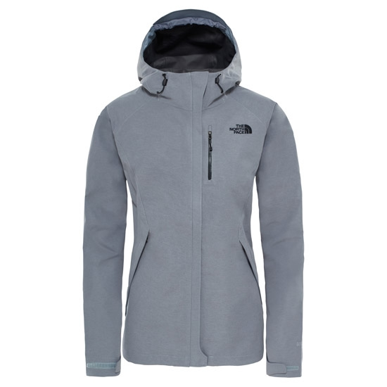 The North Face Dryzzle Jacket W - Medium Grey Heather