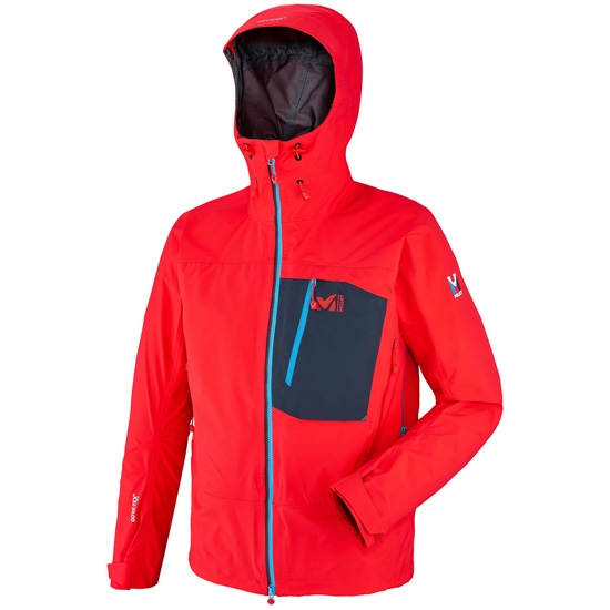 Millet Trilogy Core Gtx Pro Jacket - Rouge/Saphir