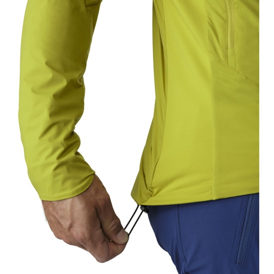 Arc'teryx Atom SL Hoody - Photo of detail