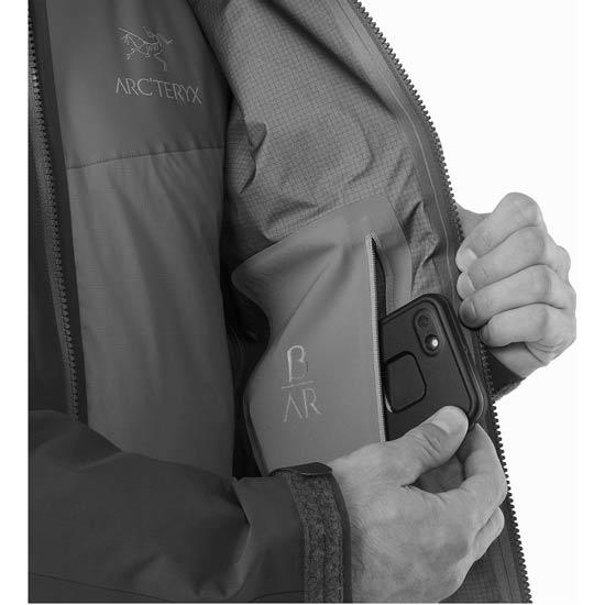 Arc'teryx Beta AR Jacket - Photo of detail
