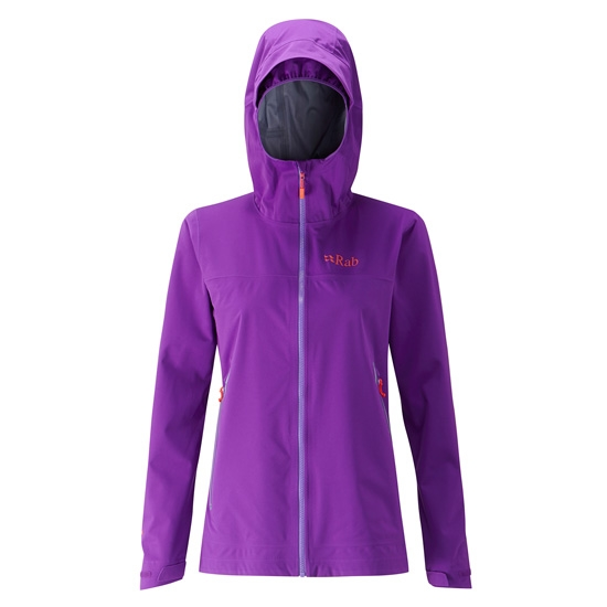 Rab Kinetic Plus Jkt W - Nightshade