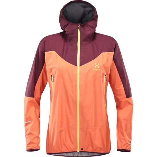 Haglöfs L.I.M Comp Jacket W - Coral Pink/Aubergine