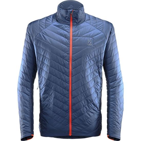 Haglöfs L.I.M Barrier Jacket - Tarn Blue/Cayenne
