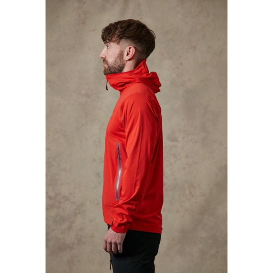 Rab Kinetic Plus Jacket - Photo of detail