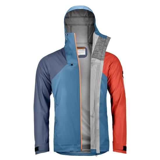 Ortovox 3L Ortler Jacket - Detail Foto