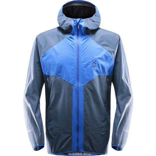 Haglöfs L.I.M Proof Multi Jacket - Cobalt Blue/Tarn Blue