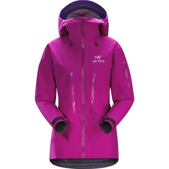 Arc'teryx Alpha SV Jacket W - Violet Wine