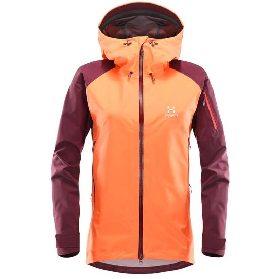 Haglöfs Roc Spirit Jacket W - Coral Pink/Aubergine