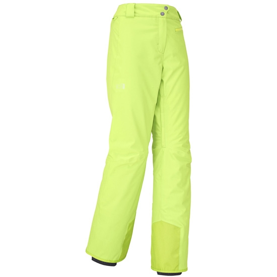 Millet Big White Stretch Pant W - Acid Green