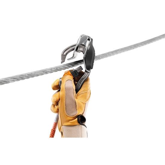 Petzl Trac+ VertigoWire-Lock - Photo de détail