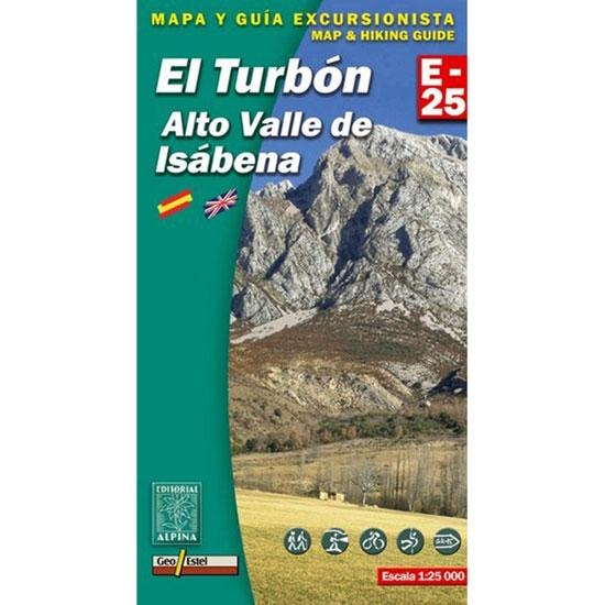 Ed. Alpina Mapa Turbón. Alto Valle Isábena 1:25000 -