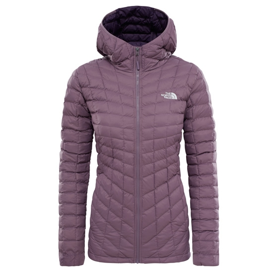 The North Face ThermoBall Hoodie W - Black Plum