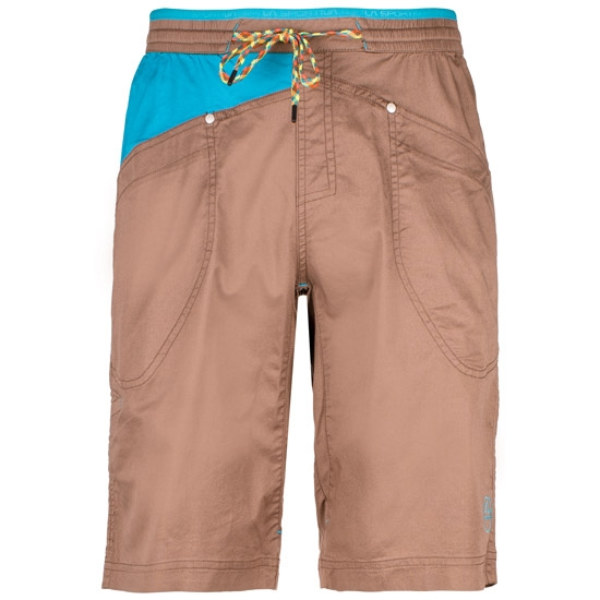 La Sportiva Bleauser Short - Falcon Brown/Tropic Blue