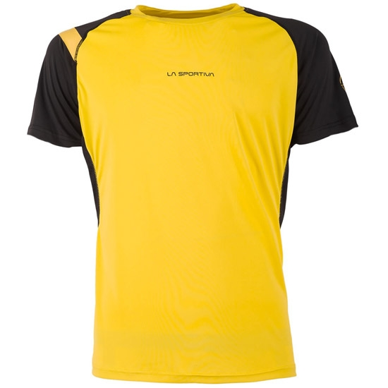 La Sportiva Motion T-Shirt - Yellow/Black