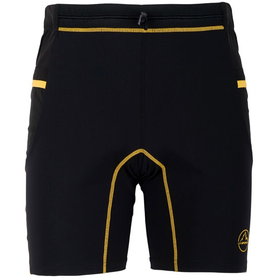 La Sportiva Freedom Tight Short - Black/Yellow