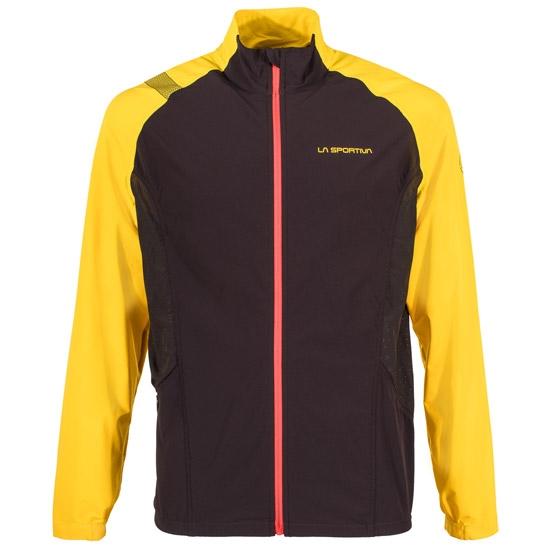 La Sportiva Levante Jacket - Black/Yellow