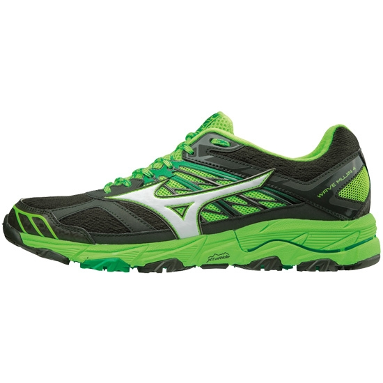 Mizuno Wave Mujin 4 - Forest Night/White/Green