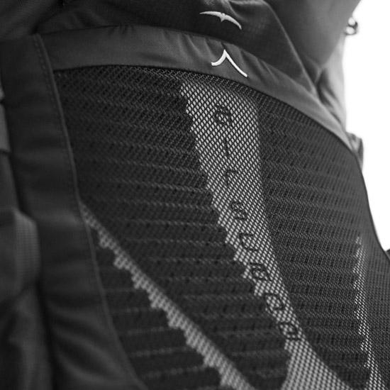 Osprey Xenith 88 M - Detail Foto