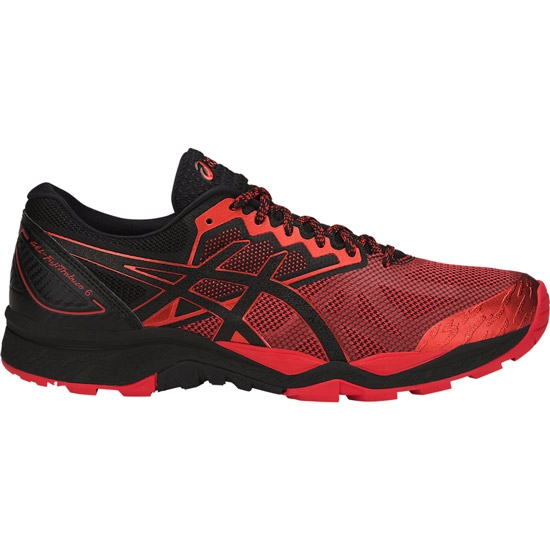 Asics Gel Fujitrabuco 6 - Black/Fiery Red/Black