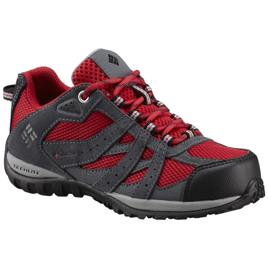 Columbia Redmond WaterProof Youth - Mountain Red Black