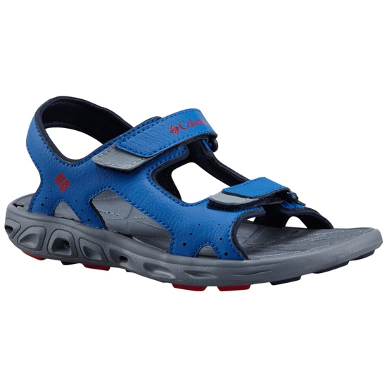 Columbia Techsun Vent Youth - Stormy Blue Mountain Red